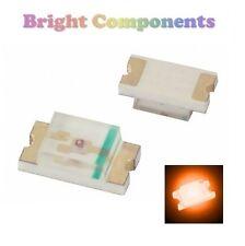 10 x 0805 Orange LED (SMD) - Ultra Bright - UK - 1st CLASS POST