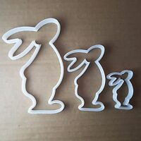 Rabbit Bunny Hare Animal Shape Cookie Cutter Easter Biscuit Pastry Fondant Sharp