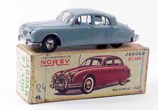1/43 ème  NOREV originale JAGUAR 2L4 gris bleu / jouet ancien