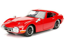 Toyota 2000GT - 1967 - 1/24 Scale Diecast Model - Red
