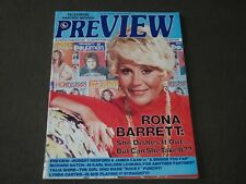 1977 MAY PREVIEW MAGAZINE - RONA BARRETT COVER - CW 943