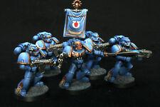 Azul de ultramar 5 marines espaciales pintura de nivel 2 (Talla Media) Warhammer 40k Gamesworkshop 2