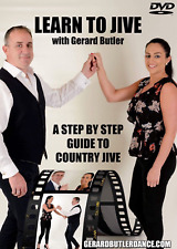 LEARN TO JIVE WITH GERARD BUTLER - A STEP BY STEP GUIDE TO COUNTRY JIVE DVD