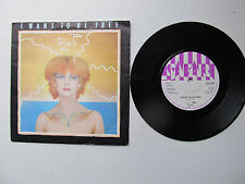 "I Want To Be Free 7"" 45 RPM Toyah safari Records SAFE 34 UK 1981"