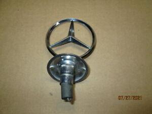 OEM 1972-1980 Mercedes Benz Hood Star Emblem W116, 280, 350, 450, S, SE & SEL
