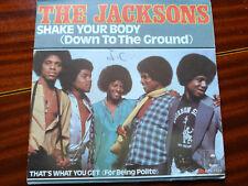 SINGLE THE JACKSONS - SHAKE YOUR BODY - EPIC FRANCE 1979 VG/VG+