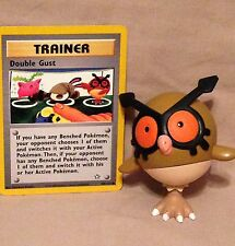 Pokémon Action Figure toy & trading Card-Hoot Hoot Owl-nintendo video game used