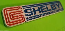 (1) Billet Aluminum Shelby Racing GT500 Supercharged Emblem Badge fits Mustang