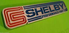 (1) Billet Aluminum Shelby Racing GT500 Supercharged Emblem Badge fits Mustang
