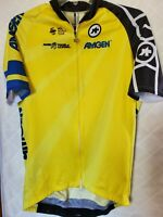 Assos Cycling Jersey Size Large Amgen Tour of California Bright UCI World Tour