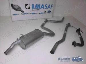 IMASAF Auspuff Set komplett für Ford ESCORT IV 1.6 RS Turbo Bj. 88-90