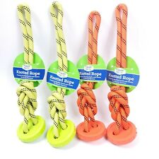 4x Knotted Rope Toy for Dogs, Puppy - Promote Healthy Teeth & Gums Free Shipping