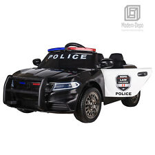 Police Pursuit 12V Electric Ride On Car Toys for Kids with 2.4G Remote Control