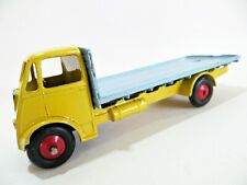 DINKY 432 / 512 'GUY FLAT-BED TRUCK'. YELLOW/BLUE. SUIT RESTORATION / RESTORED.