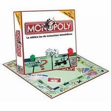 Jeu de société Monopoly en euros Petite boite - 10 Pions en métal - Parker