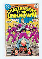 DC Comics Challengers Of The Unknown #81 F/VF- 1983