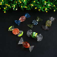 18PCs Bonbons en verre de Murano Vintage Wedding Xmas Party Candy Decor cadeau