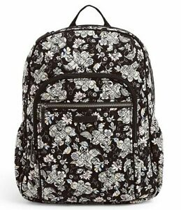 Vera Bradley Quilted Iconic Campus Holland Garden Backpack