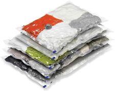 Vacuum-Seal Storage Bags, Storage Bags Large X 3 Medium X 2 - Set of 5 US Seller