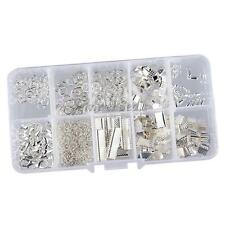 Jewelry Making Starter Kit Set Earring Bracelet Necklace Findings DIY Silver
