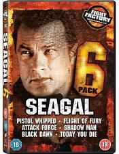 Steven Seagal 6-DVD Box Set - LIKE NEW - FAST & FREE UK DELIVERY