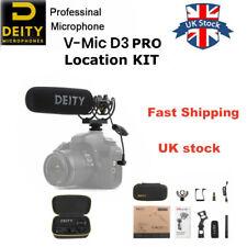 UK Deity V-Mic D3 Pro Location Kit Distortion Super cardioid Shotgun Microphone