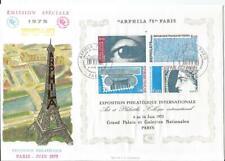 Enveloppe Premier Jour FDC Grand Format - 1975 - Arphila Bloc Grosse cote : 25 €