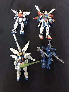 Gundam Model Robot Figures (Lot Of 4)