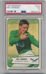 1954 Bowman Neil Worden #120! PSA 5!