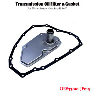 Transmission Oil Filter & Gasket 33010-JF015 For Nissan Sentra Note Suzuki Swift