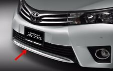 CHROME EYEBROW UNDER FRONT BUMPER GENUINE FOR TOYOTA ALTIS 2014