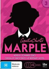 Agatha Christie's Miss Marple : Season 3 (DVD 2013 4-Disc Set) New ExRetail D74