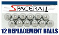 Twelve (12) SPACERAIL Chrome Steel Replacement Balls Made in USA