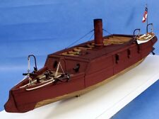 CSS Arkansas Ironclad Civil War Model Kit over 2ft long