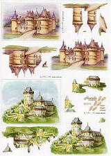 3D Bogen Motivbogen Bastelbogen Schneidebogen Schloss Mittelalter Burg (243)