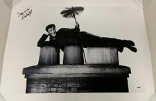 """DICK VAN DYKE Signed """"Step in Time"""" Mary Poppins 20x30 Canvas Photo PSA/DNA COA"""