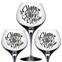 V232 6 x Wine Is My Valentine Wine Glass Vinyl Stickers DIY Glasses