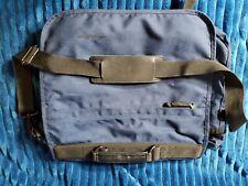 Eddie Bauer Laptop Navy Blue Messenger Bag - Nylon