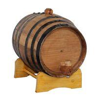 1 Liter Oak Whiskey or Wine Barrel