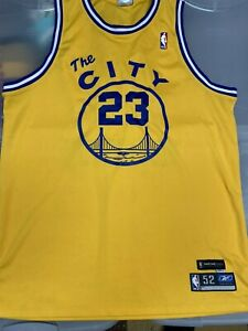 Authentic NBA Golden State Warriors Jason Richardson 1966 67 HWC Jersey Vintage
