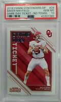 2018 CONTENDERS DRAFT PICKS BAKER MAYFIELD GAME DAY TICKET PSA 10 ROOKIE HOT RC