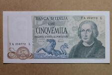 Repubblica Italiana 5000 Lire tre Caravelle Decr. 11 3 1973 Ottima Conservazione