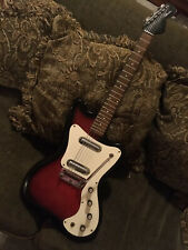 "Vintage Silvertone 1452 Danelectro ""Hornet"" electric guitar Mike Henderson USA!"