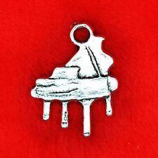 10 X De Plata Tibetana Piano encanto colgante encontrar haciendo 50 Sombras De Grey tema