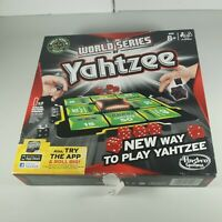 Hasbro Gaming World Series of Yahtzee Board Game Complete Family Game Dice 2012
