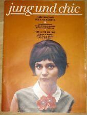 Jung und chic Jahresmodelinie für junge Mädchen Pramo Sonderheft DDR 1964