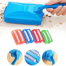 Handheld Carpet Table Sweeper Crumb Dirt Brush Cleaner Collector Roller Random