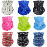 3/6/12 PCS Neck Gaiter Tube Bandana Paisley Motorcycle Bike Ski Face Mask Lot