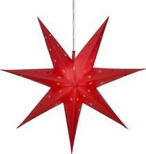 Stern 12 LEDs �˜60cm 6/18h Timer Hängestern Outdoor wei�Ÿ oder rot Weihnachtsdeko