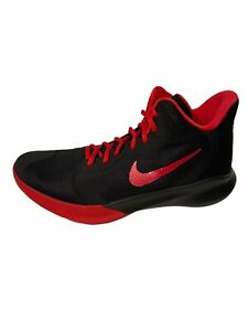 Nike Mens Black Precision III Basketball Shoes Sneakers Size 7.5  Worn Once